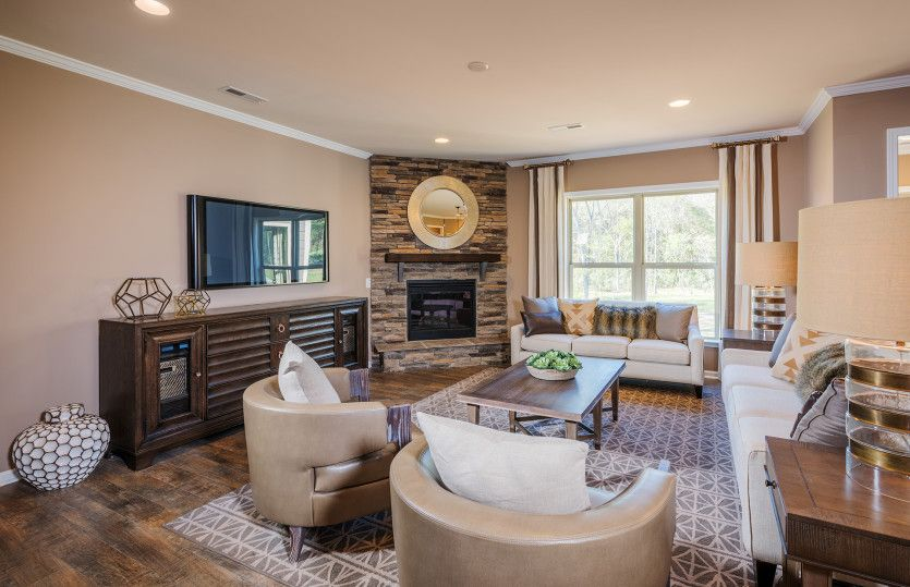Living Area featured in the Wingate By Pulte Homes in Atlanta, GA