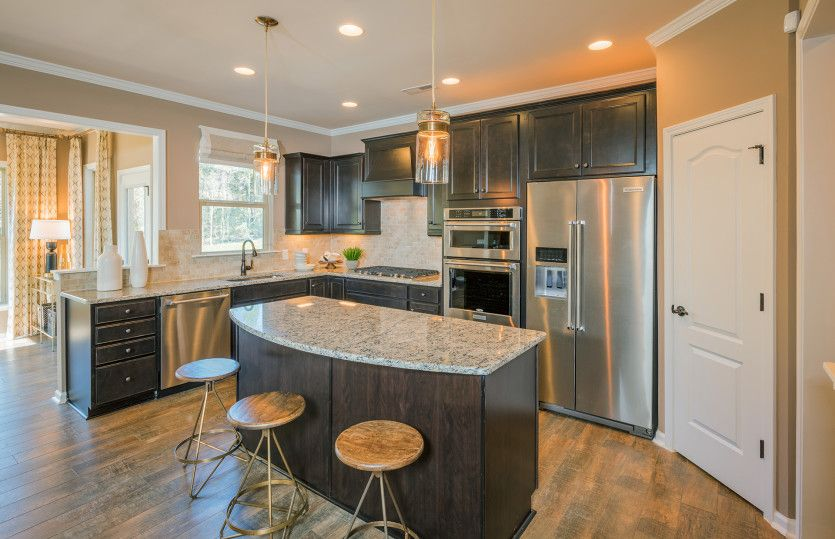 Kitchen featured in the Wingate By Pulte Homes in Atlanta, GA