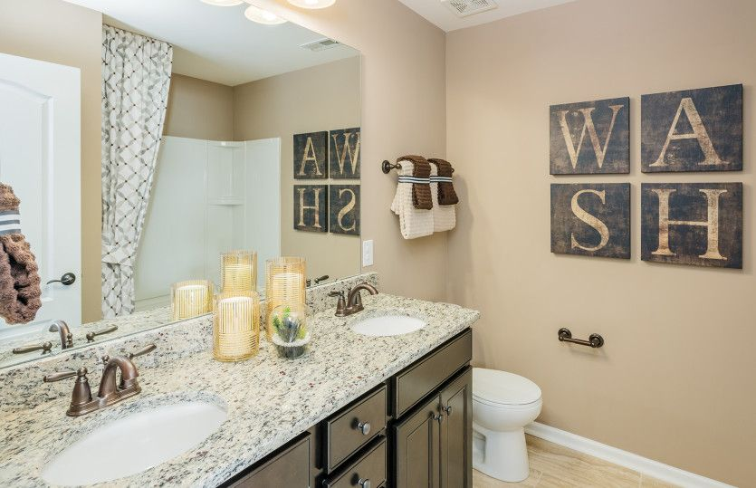 Bathroom featured in the Wingate By Pulte Homes in Atlanta, GA