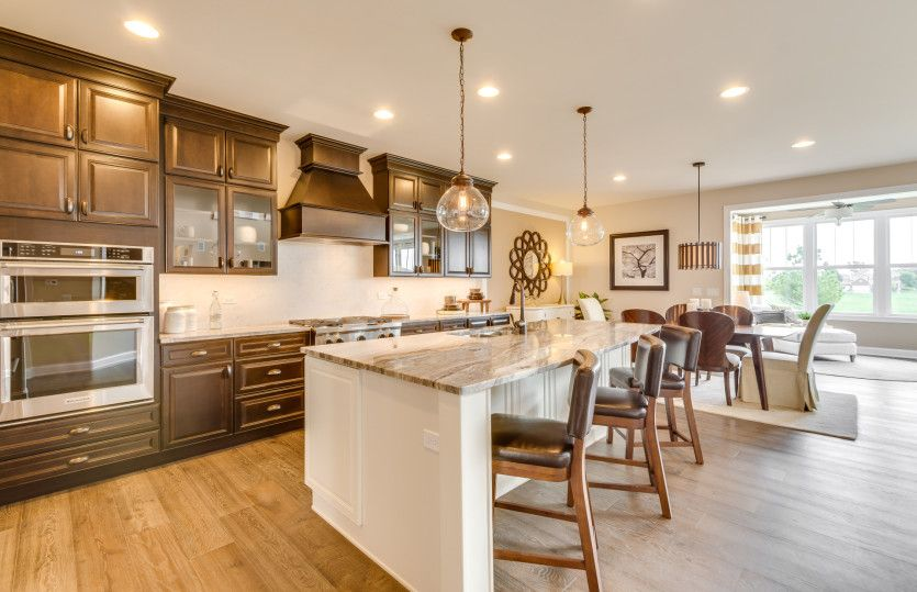 Kitchen featured in the Melrose By Pulte Homes in Chicago, IL