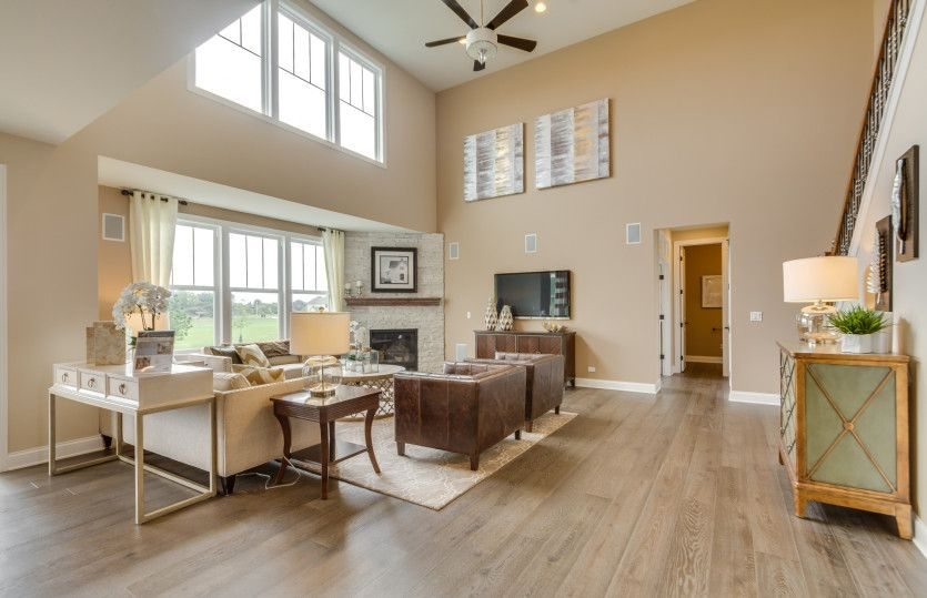 Living Area featured in the Melrose By Pulte Homes in Chicago, IL