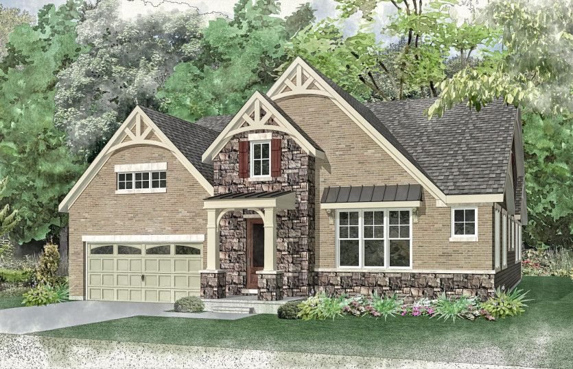 Exterior featured in the Bourges By Pulte Homes in Chicago, IL