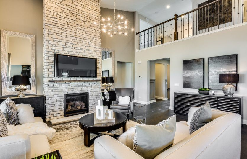 Living Area featured in the Bourges By Pulte Homes in Chicago, IL