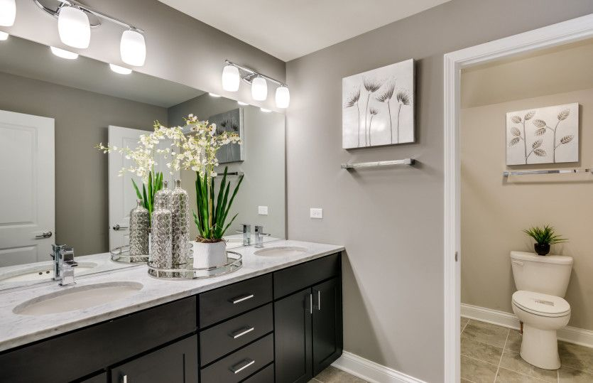 Bathroom featured in the Bourges By Pulte Homes in Chicago, IL
