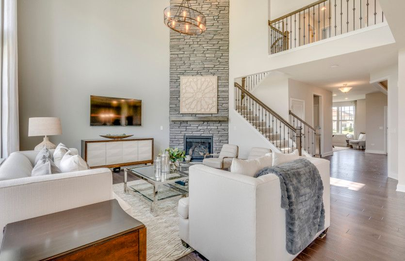 Living Area featured in the Castleton By Pulte Homes in Chicago, IL