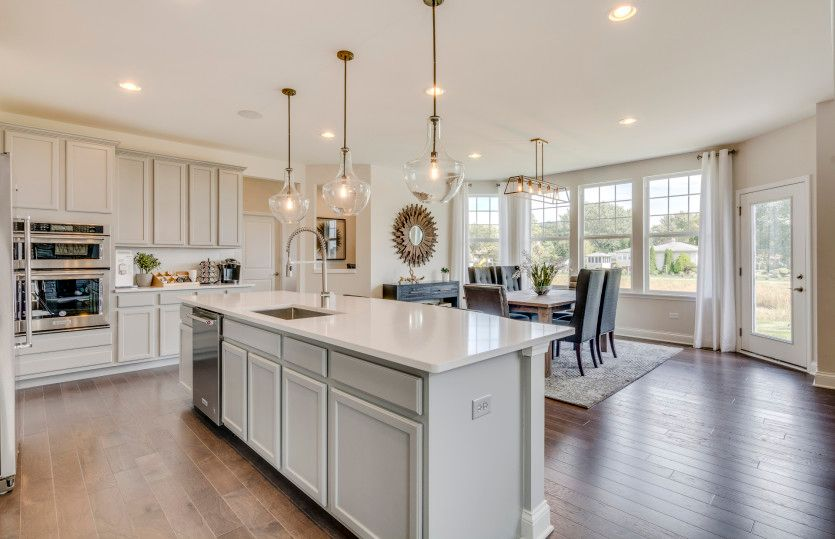 Kitchen featured in the Castleton By Pulte Homes in Chicago, IL
