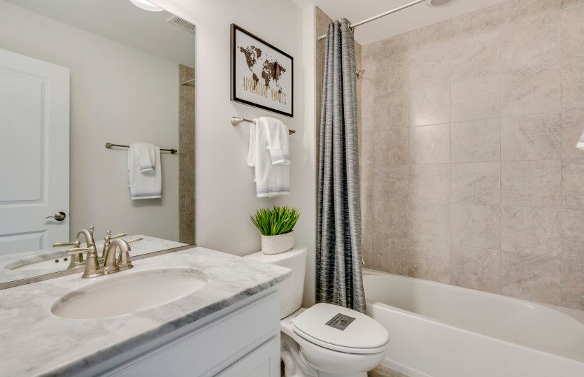 Bathroom featured in the Castleton By Pulte Homes in Chicago, IL