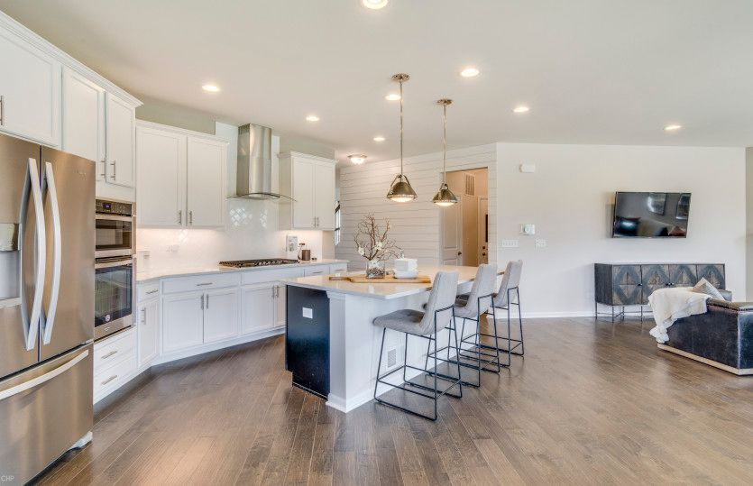 Kitchen featured in the Park Place By Pulte Homes in Chicago, IL
