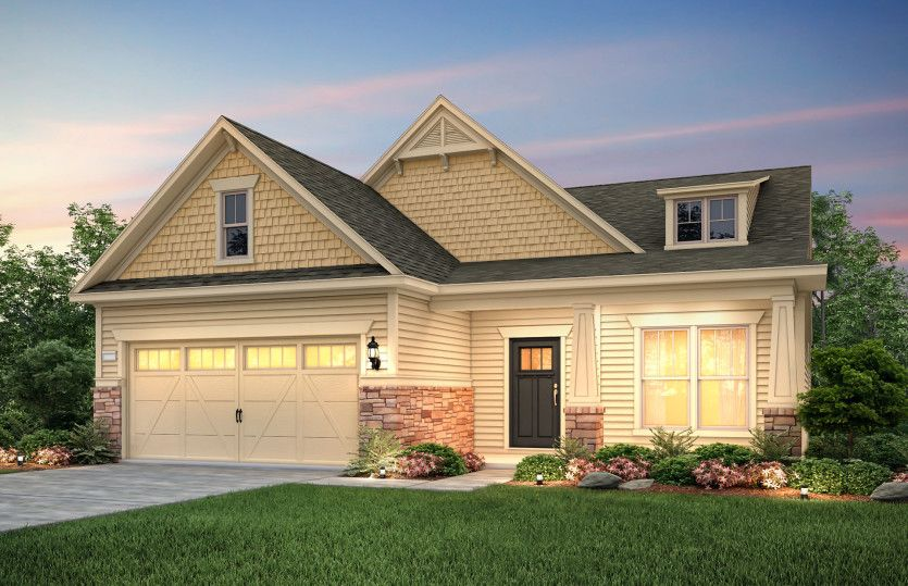 Exterior featured in the Martin Ray By Pulte Homes in Atlanta, GA