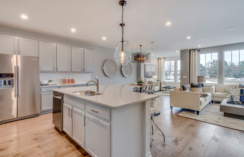 Kitchen featured in the Denali-Interior Unit By Pulte Homes in Chicago, IL