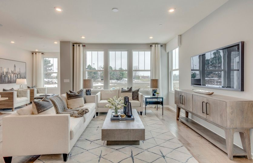 Living Area featured in the Denali-Interior Unit By Pulte Homes in Chicago, IL