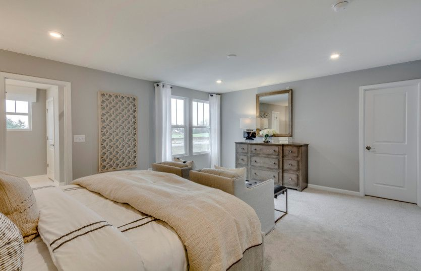 Bedroom featured in the Denali-Interior Unit By Pulte Homes in Chicago, IL