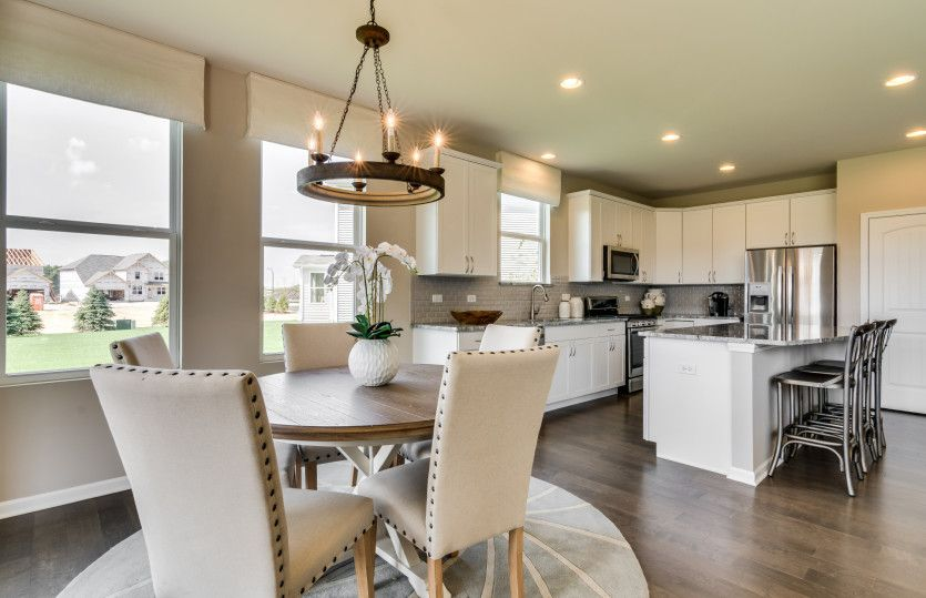 Kitchen featured in the Abbeyville By Pulte Homes in Chicago, IL