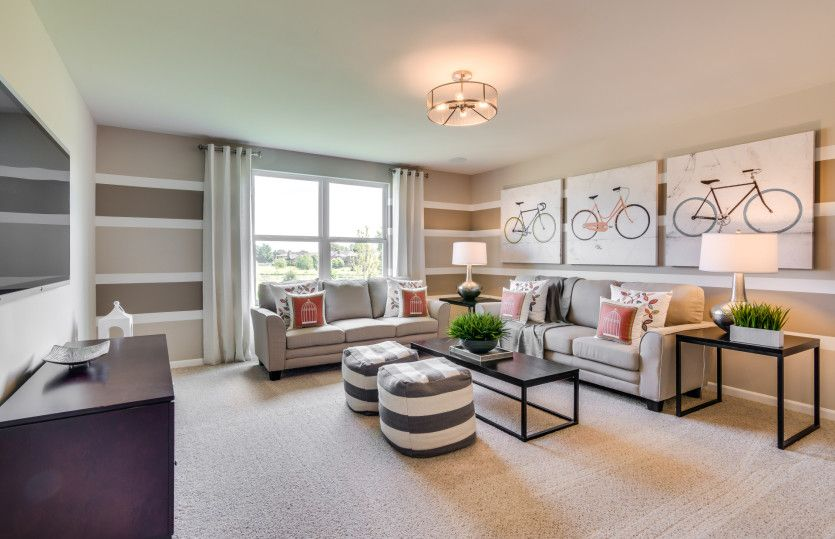 Living Area featured in the Abbeyville Ranch By Pulte Homes in Chicago, IL