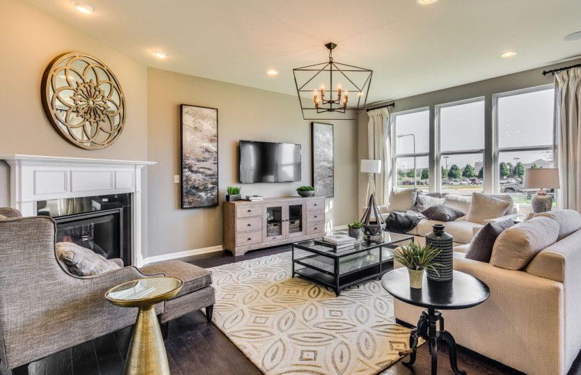 Living Area featured in the Mercer By Pulte Homes in Chicago, IL