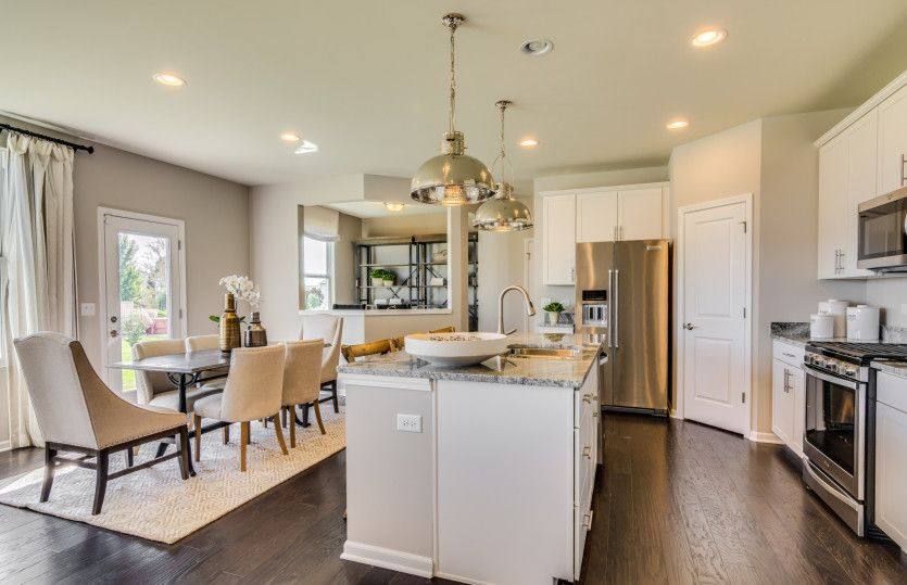 Kitchen featured in the Mercer By Pulte Homes in Chicago, IL