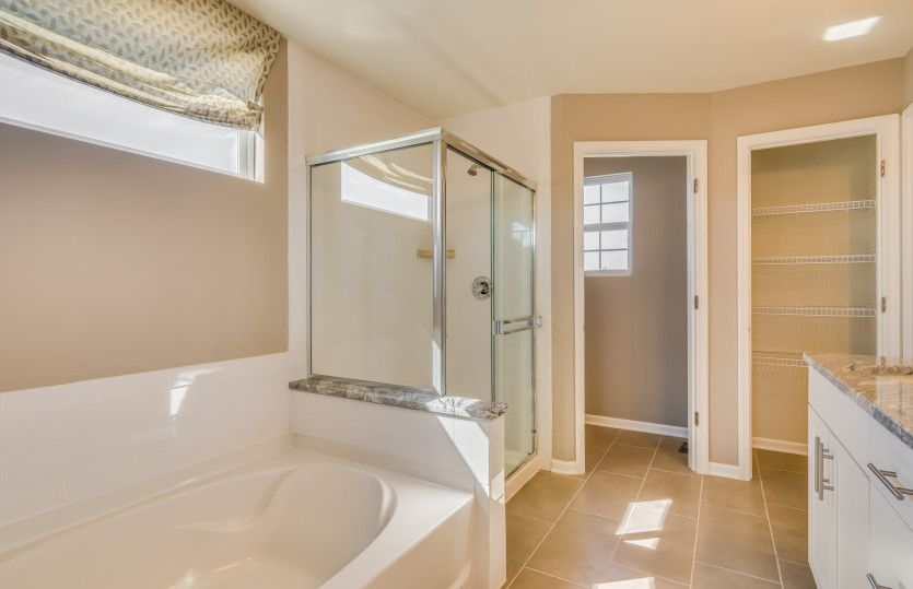 Bathroom featured in the Mercer By Pulte Homes in Chicago, IL