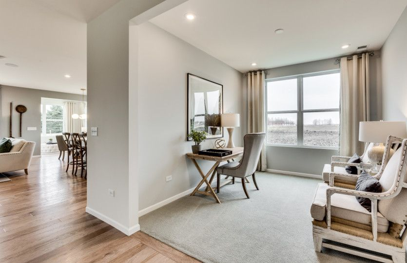 Living Area featured in the Abbeyville By Pulte Homes in Chicago, IL