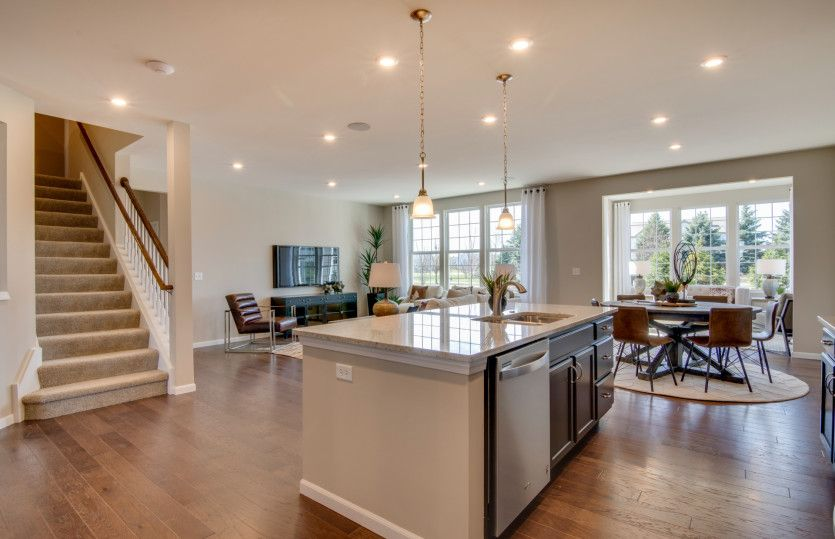 Kitchen featured in the Continental By Pulte Homes in Chicago, IL
