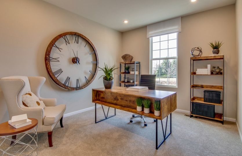 Living Area featured in the Continental By Pulte Homes in Chicago, IL