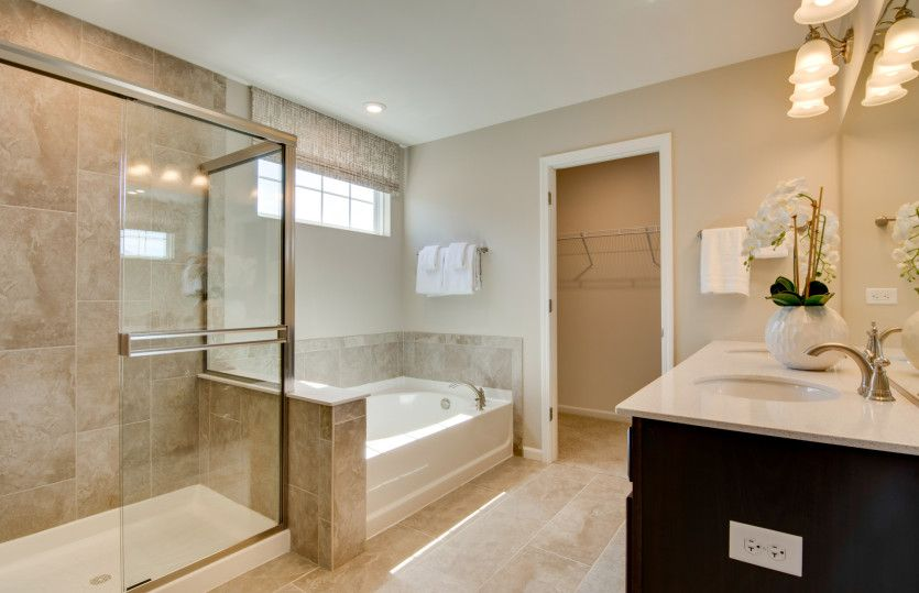 Bathroom featured in the Continental By Pulte Homes in Chicago, IL
