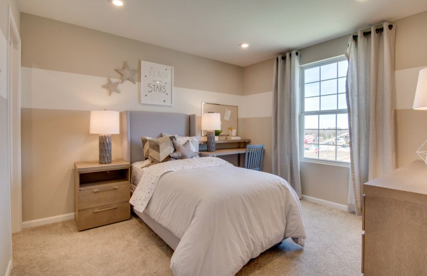 Bedroom featured in the Continental By Pulte Homes in Chicago, IL