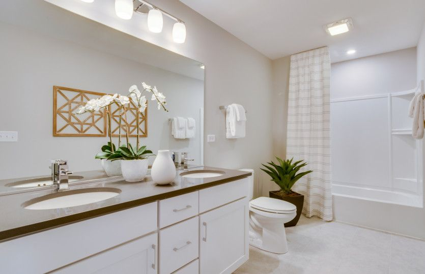 Bathroom featured in the Westchester By Pulte Homes in Chicago, IL