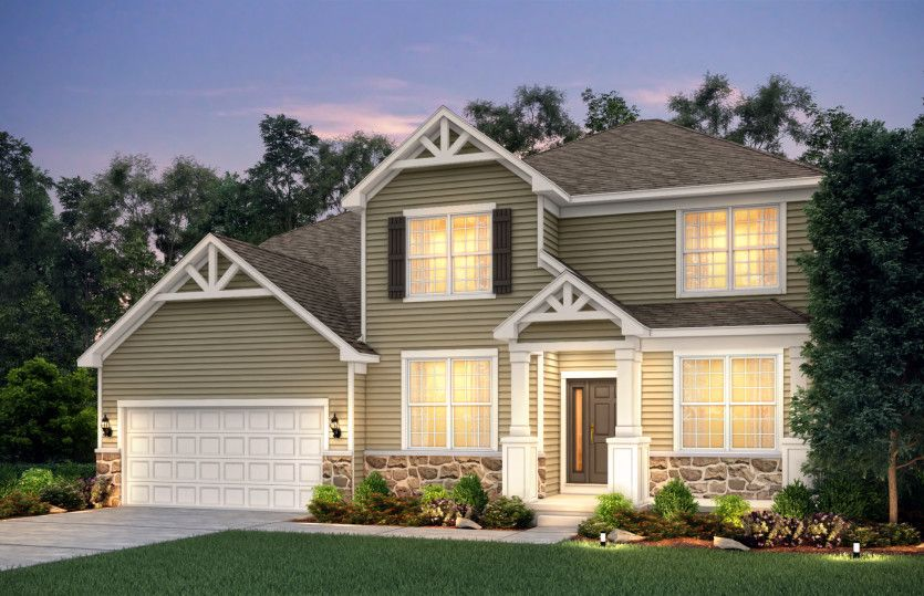 Exterior featured in the Riverton By Pulte Homes in Chicago, IL