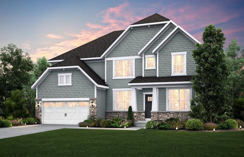 Exterior featured in the Willwood By Pulte Homes in Chicago, IL