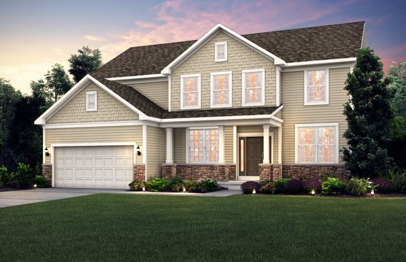 Exterior featured in the Woodside By Pulte Homes in Chicago, IL