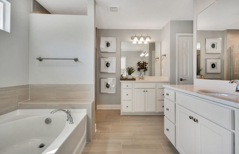 Bathroom featured in the Devereaux By Pulte Homes in Atlanta, GA