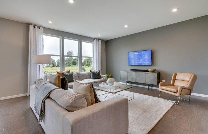 Living Area featured in the Newberry By Pulte Homes in Chicago, IL