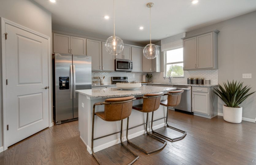 Kitchen featured in the Newberry By Pulte Homes in Chicago, IL