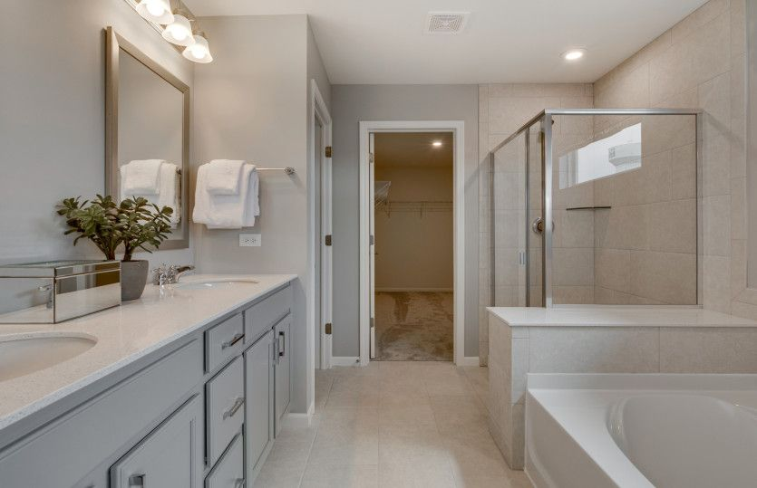 Bathroom featured in the Newberry By Pulte Homes in Chicago, IL