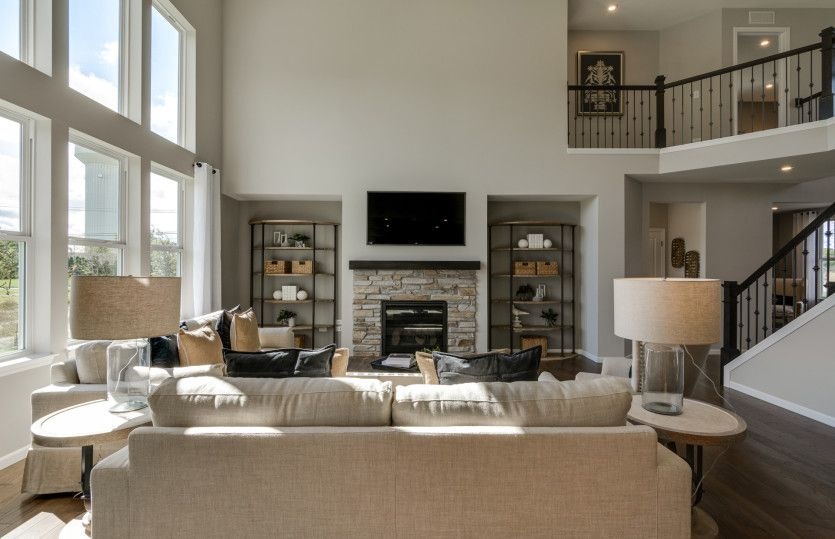 Living Area featured in the Woodside By Pulte Homes in Chicago, IL