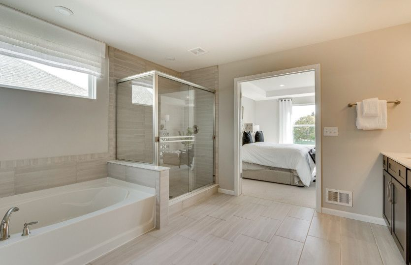 Bathroom featured in the Woodside By Pulte Homes in Chicago, IL