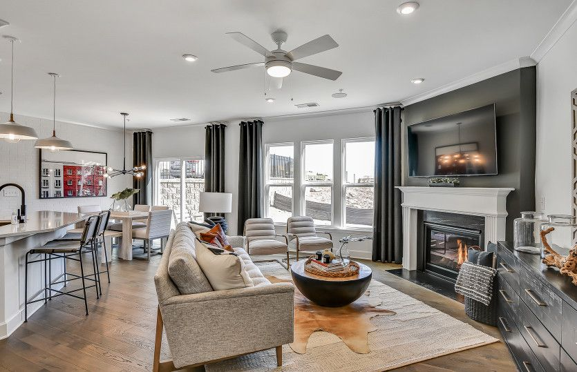 Living Area featured in the Palomino By Pulte Homes in Atlanta, GA