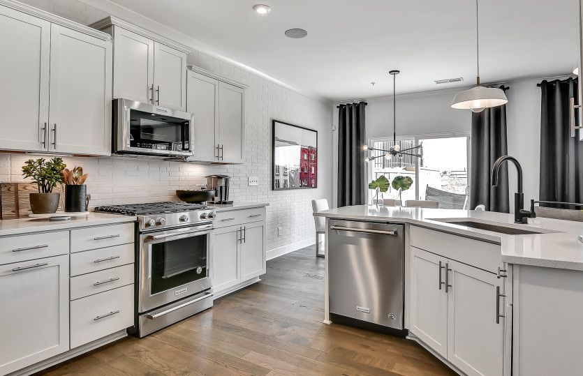 Kitchen featured in the Palomino By Pulte Homes in Atlanta, GA