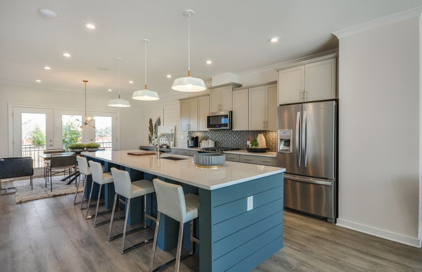 Kitchen featured in the Briarcliff By Pulte Homes in Atlanta, GA