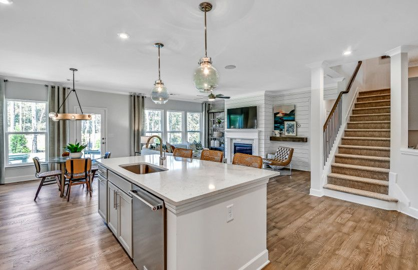 Kitchen featured in the Continental By Pulte Homes in Atlanta, GA