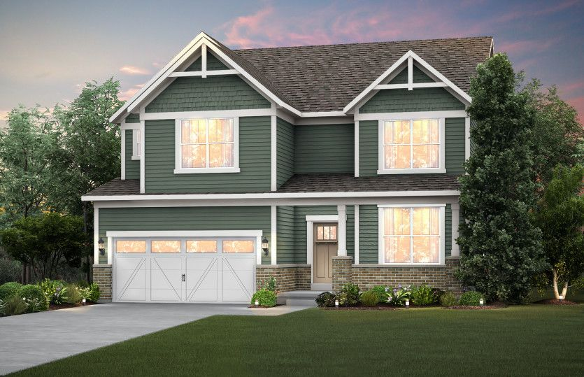 Exterior featured in the Waverly By Pulte Homes in Chicago, IL