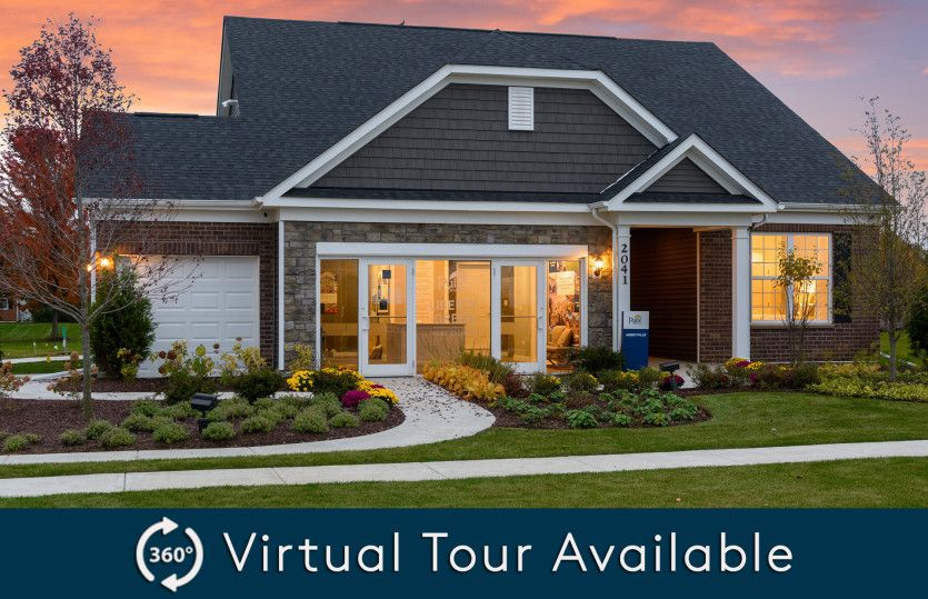 Exterior featured in the Abbeyville By Pulte Homes in Chicago, IL