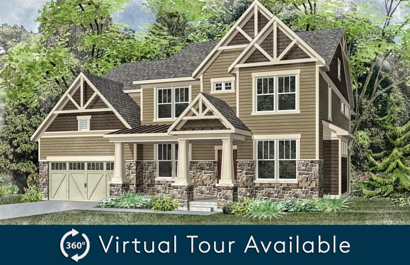 Exterior featured in the Melrose By Pulte Homes in Chicago, IL