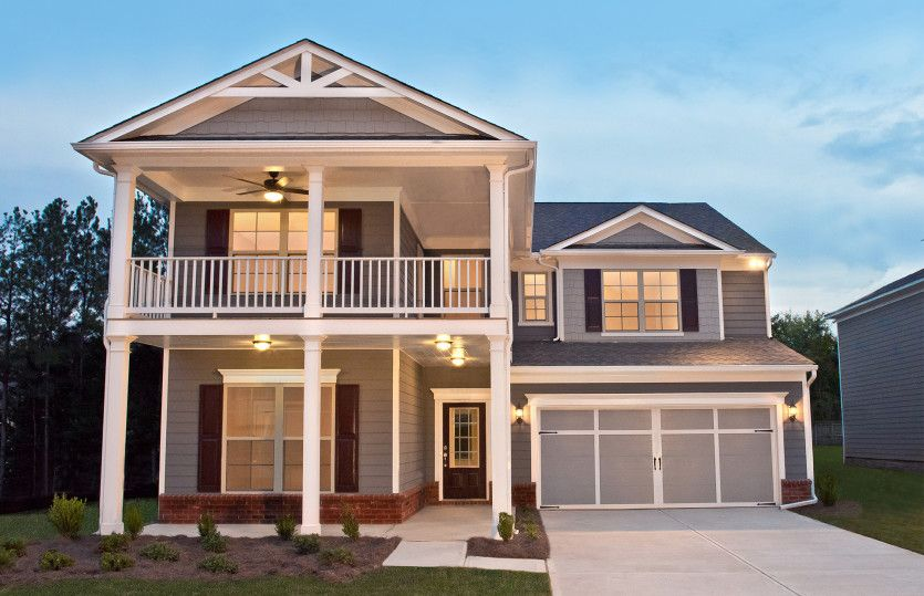 Exterior featured in the Valleybrook By Pulte Homes in Atlanta, GA