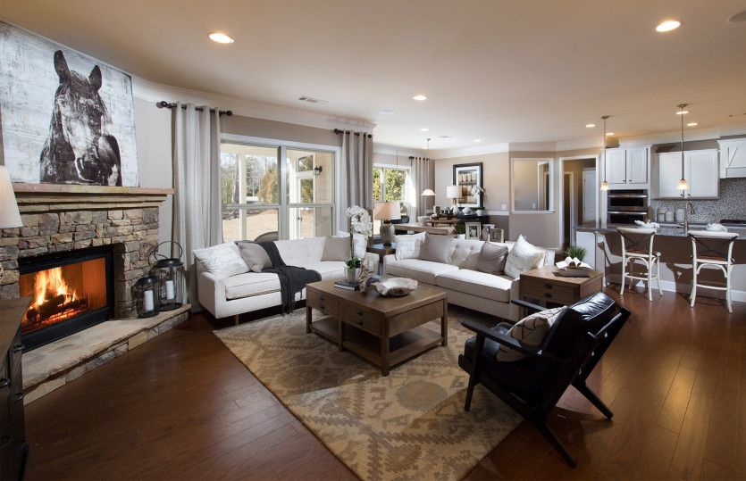 Living Area featured in the Valleybrook By Pulte Homes in Atlanta, GA