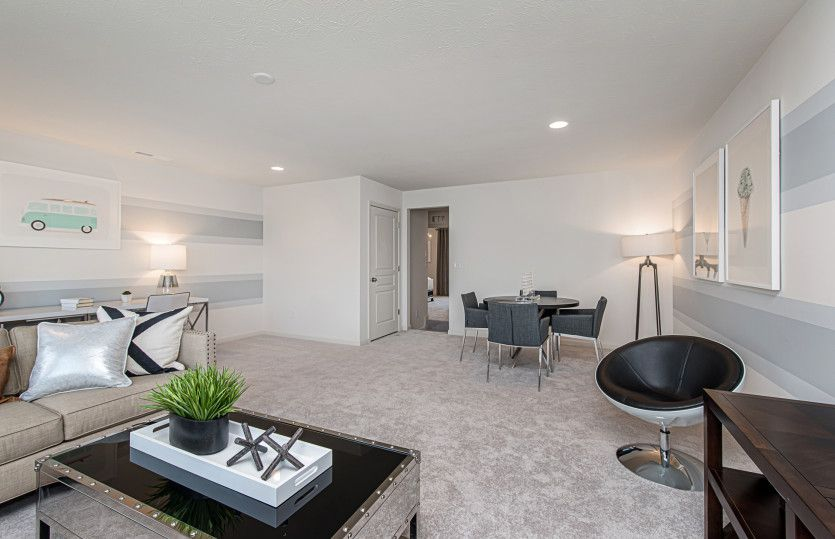 Living Area featured in the Greenfield By Pulte Homes in Chicago, IL