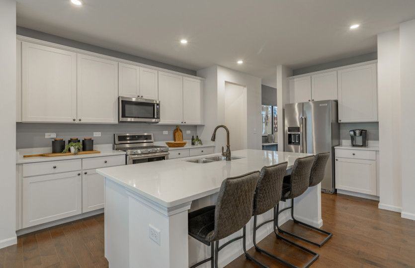 Kitchen featured in the Hilltop By Pulte Homes in Chicago, IL