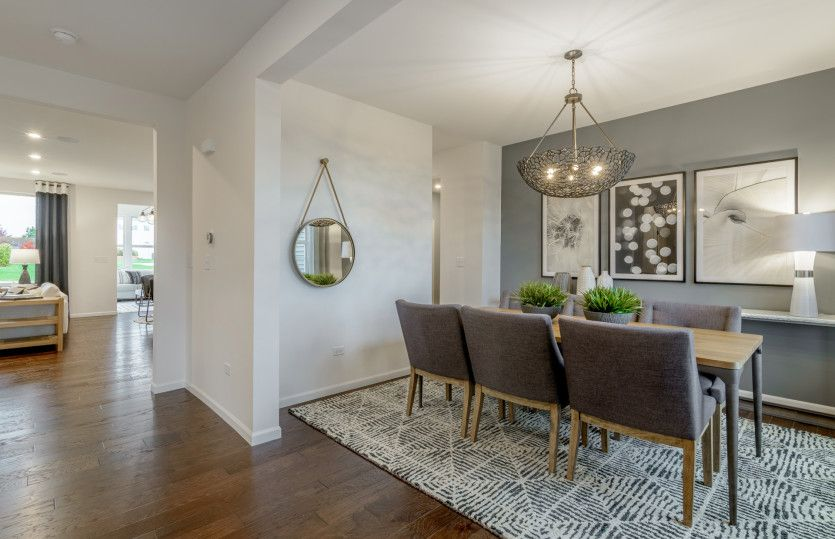 Living Area featured in the Hilltop By Pulte Homes in Chicago, IL