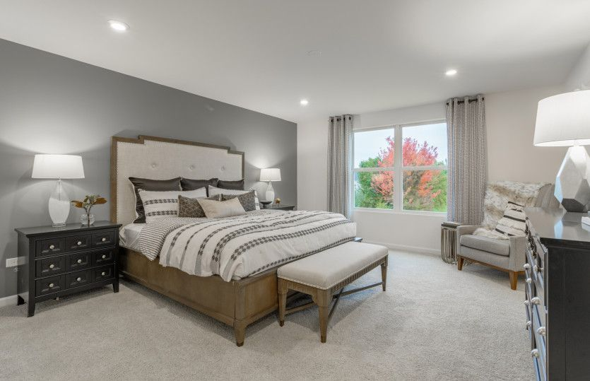Bedroom featured in the Hilltop By Pulte Homes in Chicago, IL