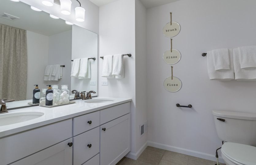 Bathroom featured in the Hilltop By Pulte Homes in Chicago, IL